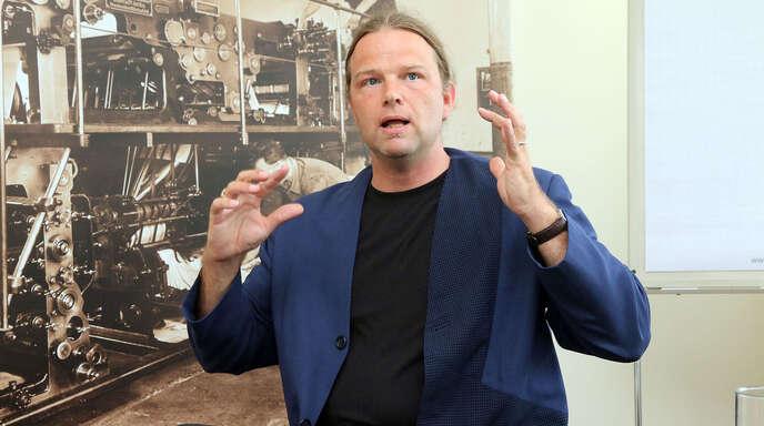Tim Otto Roth arbeitet eng mit wissenschaftlichen Forschungseinrichtungen zusammen.