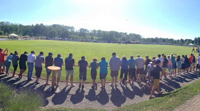 Beeindruckende Kulisse: 1300 Zuschauer waren beim Aufstiegs-Rückspiel am Sonntag in Ottenheim zu Gast.