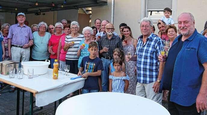 Gemeinsam mit den Nachbarn feiern: Das tun Anwohner in der Diersburger Straße in Oberschopfheim jedes Jahr im Sommer.