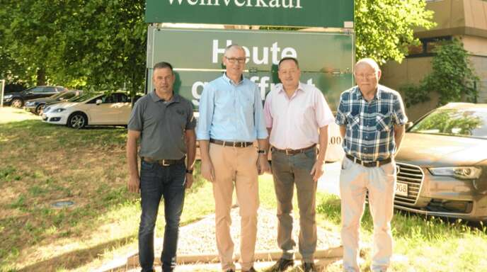 Das neue Führungsteam der Affentaler Winzer besteht aus Stefan Meier, Ralf Schäfer, Thomas Goth und Bernhard Moser (von links).