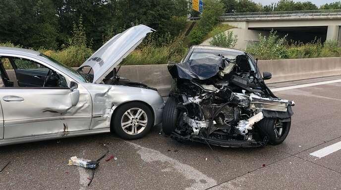 Unfall A5 Appenweier