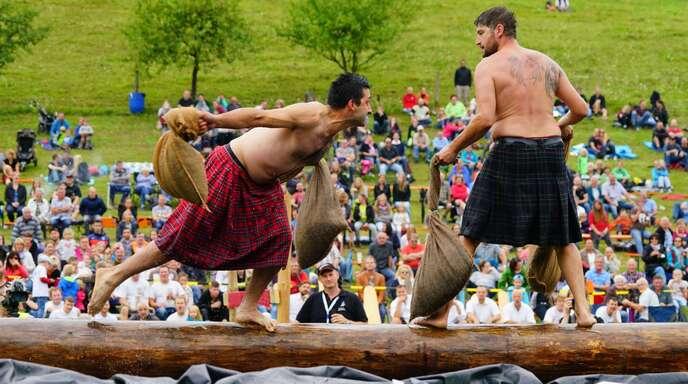 Ein Höhepunkt des Wochenendes in der Ortenau: Die Highland Games in Prinzbach.