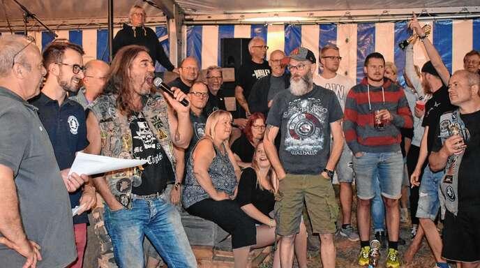 Friedlich, aber ausgelassen wurde wieder beim Oberschopfheimer Motorradtreffen am Wochenende gefeiert.
