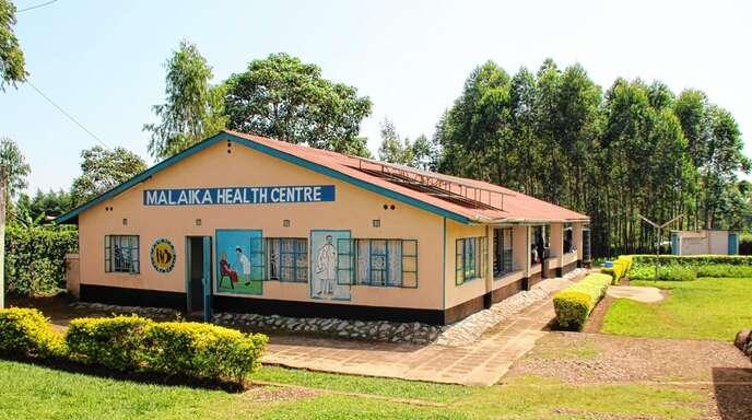 Das Health Centre im Waisenhauskomplex Children's Home Malaika hilft auch den Menschen der Region in Kenia.