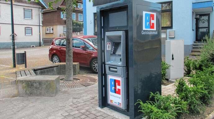 Hier schnappt die Gebührenfalle zu: Geldautomat am Dreiangel in Oberschopfheim.