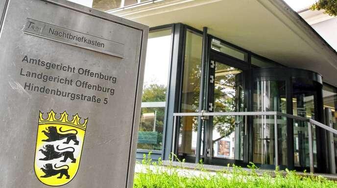 Die Brandstiftung wurde vor dem Amtsgericht Offenburg verhandelt.