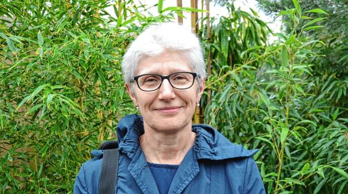 Andrea Schopp bemängelt die Beschilderung der LGS in Lahr.