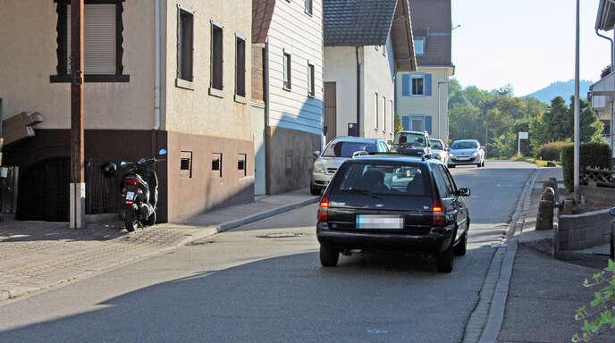 Die Diersburgerstraße in Oberschopfheim: Immer wieder werden Klagen laut, dass die Autos zu schnell fahren.