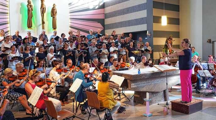 Kehl Musica Sacra Verdis Messa da Requiem: Probe für Konzert in ...