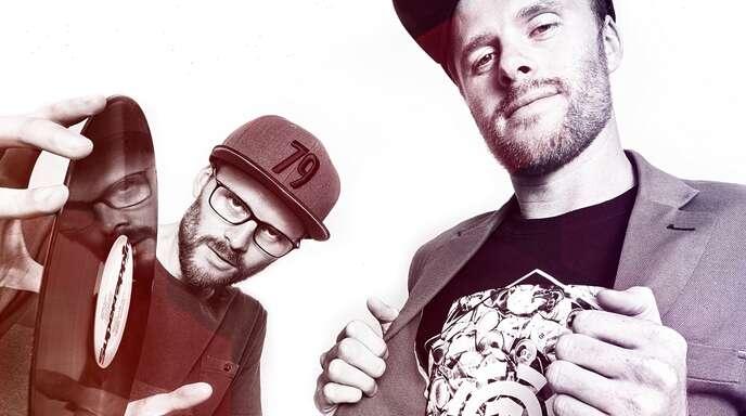 Till (links) und Felix Neumann sind das Hip-Hop-Duo »Zweierpasch«.