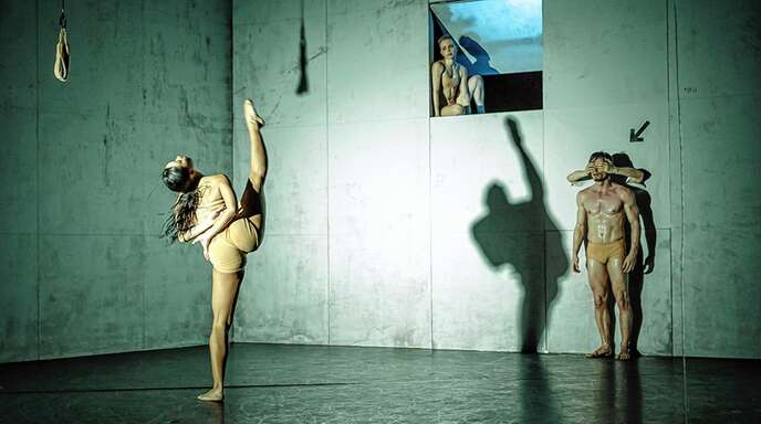 Szene aus der Choreografie »Bacon«.