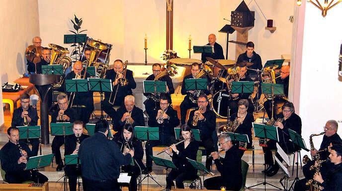 Musikverein Tiergarten beeindruckte mit einem Kirchenkonzert.