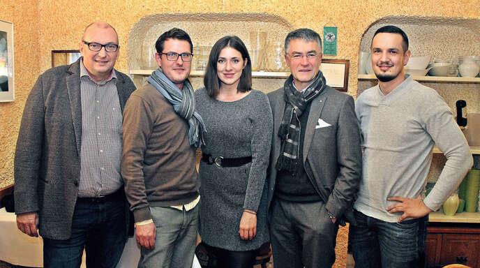 Der FDP-Stadtverband Lahr stellt den Vorstand (von links): Matthias Kappis (scheidender Vorsitzender), Schriftführer Tino Ritter, Regina Sittler (Vorsitzende), Ulrich Kipper (Schatzmeister) und Robert Karsten (stellvertretender Vorsitzender).