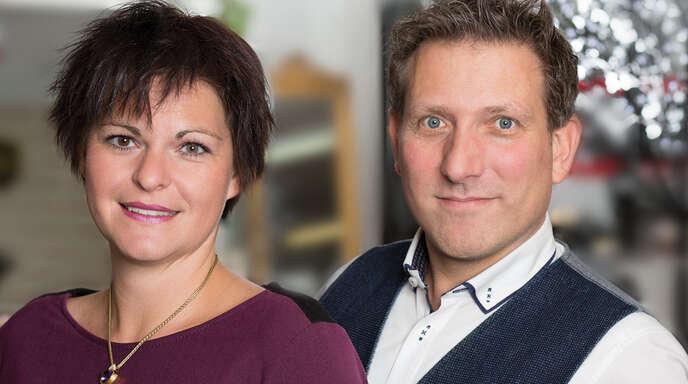 Claudia und Markus Nass, die Inhaber der Goldgalerie.