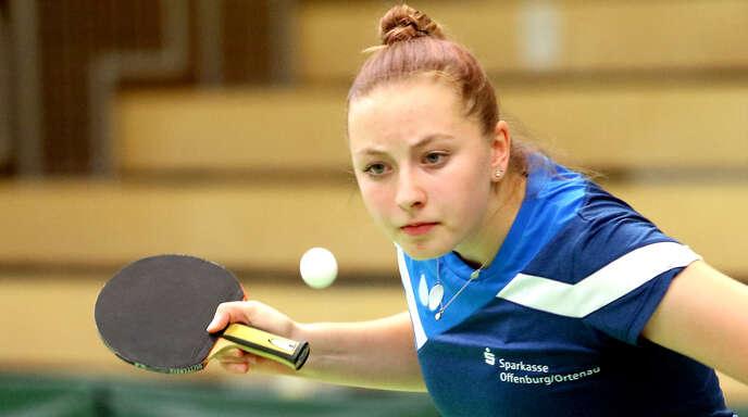 Auf eine beeindruckende Bilanz kam Jana Kirner beim Top-24-Ranglistenturnier in Dillingen. Nach sieben Siegen musste sie sich erst im achten Spiel geschlagen geben.