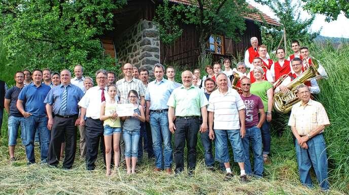 Wie ein Mann stehen die Seebacher hinter ihrem Bürgermeister. Das zeigt sich bei den Wahlen genauso wie etwa bei der Restaurierung einer alten Hofmühle.