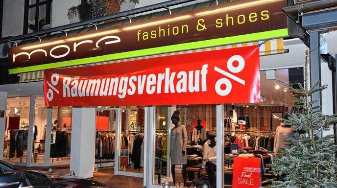 Auch »more fashion & shoes« schließt nach knapp zwei Jahren am Kirchplatz 1.