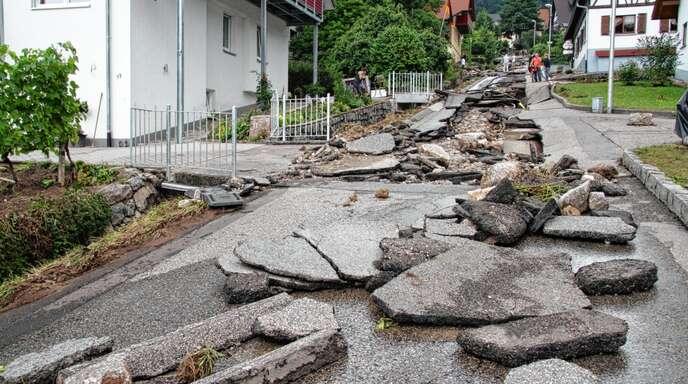Das Hochwasser 2014 mit seiner Zerstörung am Besenstiel sitzt noch tief im Bewusstsein der Anwohner in Kappelrodeck. Am Montagabend kam daher die Anfrage im Rat, wann die geplanten Schutzmaßnahmen umgesetzt werden.