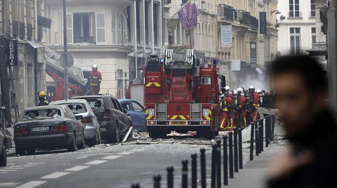 Explosion In Paris Heute