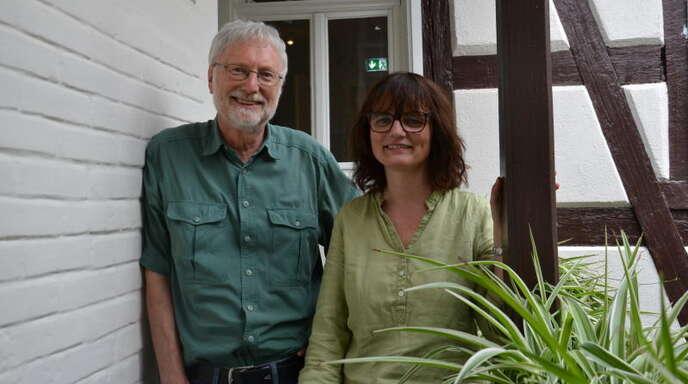 Der eine scheidet aus, die andere will in den Gemeinderat hinein: Claus Vollmer und Sonja Rehm.