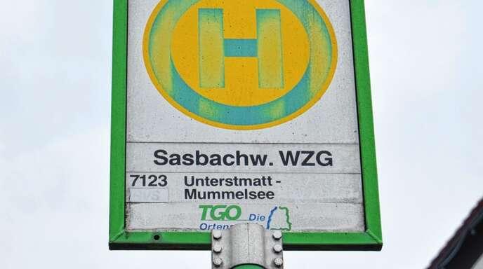 In den warmen Monaten 2018 wurden die Freizeitbusse zur Hornisgrinde gut genutzt. Im Bild eine Haltestelle in Sasbachwalden.