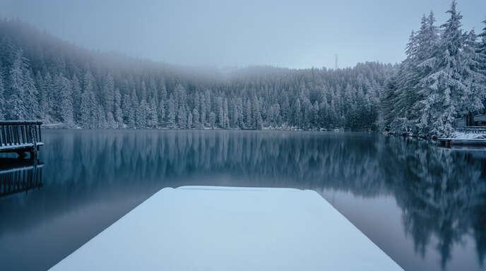 Mummelsee Schnee