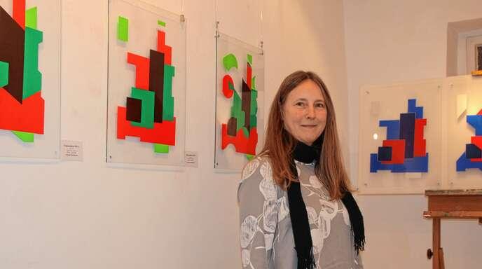 Annette Birnbaum stellt noch bis zum Sonntag, 10. März, aus.
