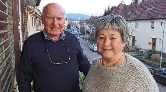 Seit inzwischen 60 Jahren ein glückliches Paar: Anna und Arno Römert.