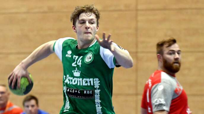 Philipp Kunde ist bisher der erfolgreichste Torschütze des HGW Hofweier und will auch gegen die SG Muggensturm/Kuppenheim erfolgreich sein.