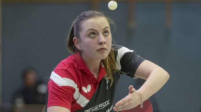 Jana Kirner war mit ihren spielerischen Leistungen zufrieden, nicht aber mit der Platzierung.