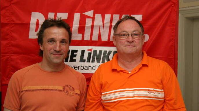 Lukas Oßwald, links, tritt wieder an zur Wahl in den Gemeinderat.