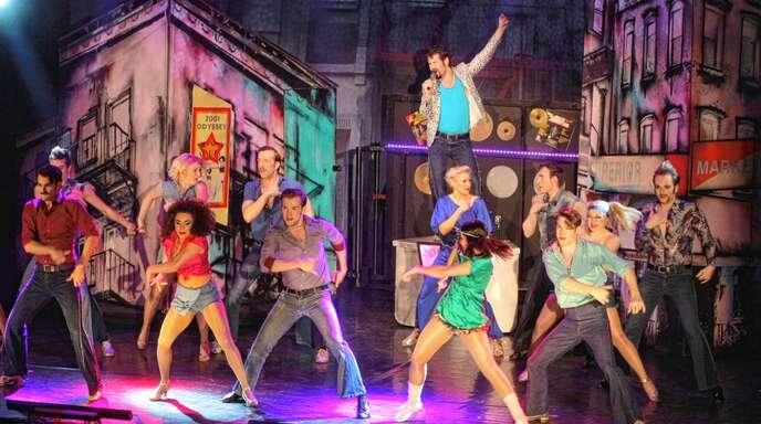 Das Tanzensemble der Produktion von Showservice Frank Serr machte auf der Bühne eine gute Figur.