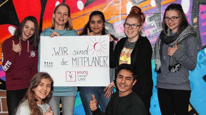 Engagiert im Namen der Caritas Lahr: Das neue sogenannte Mitplaner-Team, das sich im September neugründete.
