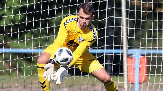 Nach den vier Gegentreffern aus der Vorwoche will Lahrs Torwart Jonas Wirth seinen Kasten im Heimspiel gegen den FC Auggen möglichst sauber halten.
