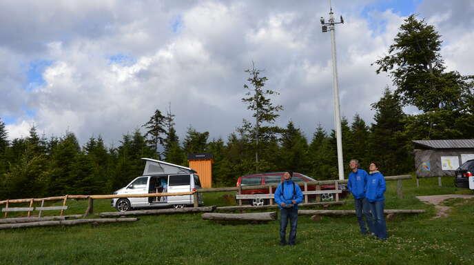 Am Gleitschirmfliegerstartplatz Roßbühl will die CDU Oppenau ein Café mit Vesperhütte realisieren.