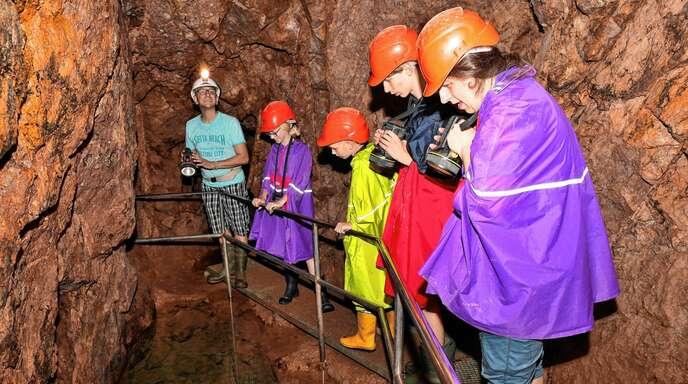 Eine der touristischen Attraktionen ist das Bergwerk Silbergründle. Die Anfragen nach Führungen sind größer als die Kapazitäten.