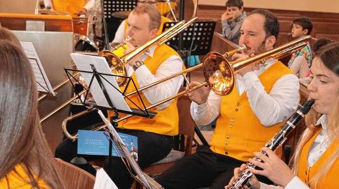 Gut vorbereitet präsentierte sich der Musikverein Meißenheim bei seinem abwechslungsreichen Frühlingskonzert in der evangelischen Barockkirche im Ort.