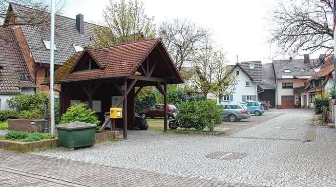 Die Dorfplatzgestaltung stand im Mittelpunkt der Ortschaftsratssitzung in Wagshurst. Nun soll ein neuer Planentwurf entwickelt werden.