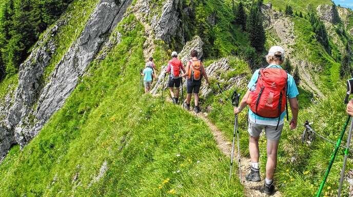 Auch Wanderungen zählten im vergangenen Jahr zum Angebot des Sport- und Freizeitclubs Oppenau.