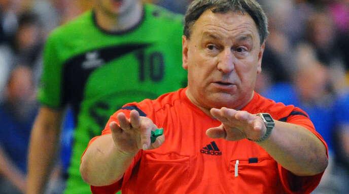 Ex-Bundesliga-Schiedsrichter Roland Muser kämpft vehement um Schiri-Nachwuchs.