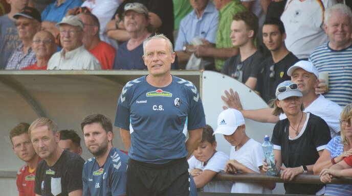 Am 13. Juli mit dem SC Freiburg in Offenburg zu Gast: Christian Streich.