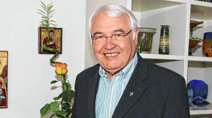 Den Menschen von der Liebe Gottes zu verkünden war es, was für Pfarrer Ludwig Hönlinger in den vergangenen 50 Jahren besonders wichtig war.