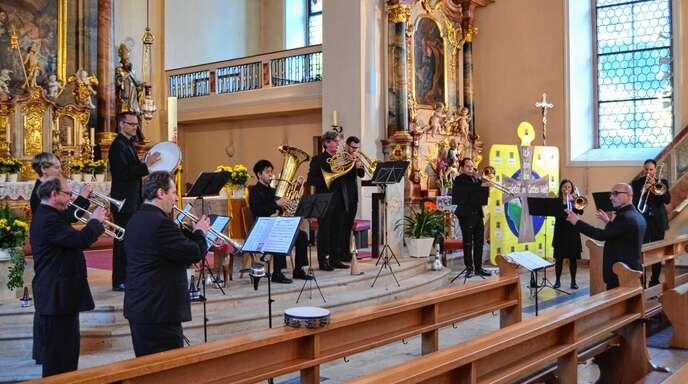 »Senza Legno« beim Klangraum-Kirche-Gastspiel am Sonntag in Bad Peterstal.