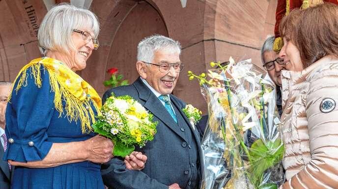 Maria Und Andreas Vollmer Feiern Goldene Hochzeit Baden