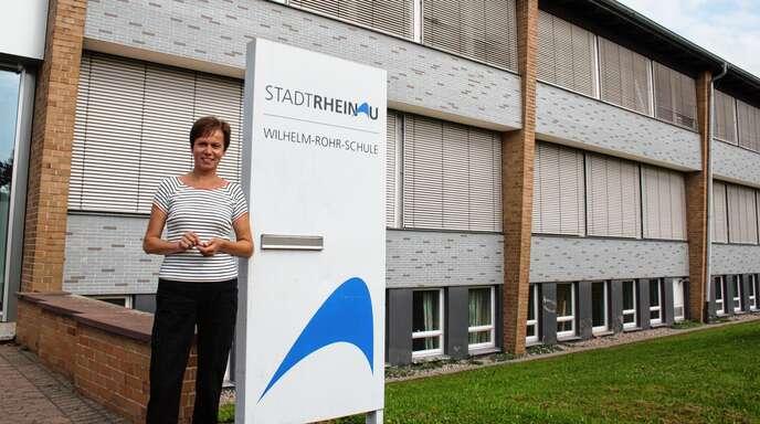 Aus der Werkrealschule – hier mit Rektorin Brigitte Brodbeck – und der Realschule soll eine Rheinauer Verbundschule mit 600 bis 650 Schülern werden.