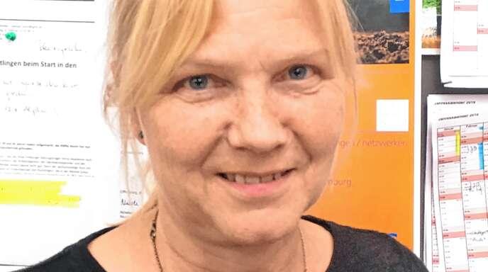 Karin Weißer von der VHS Offenburg.