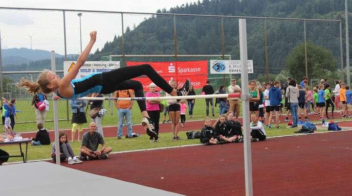 Hoch hinaus geht es am Sonntag wieder für die Teilnehmer an den Kreismehrkampf-Meisterschaften in Ohlsbach.