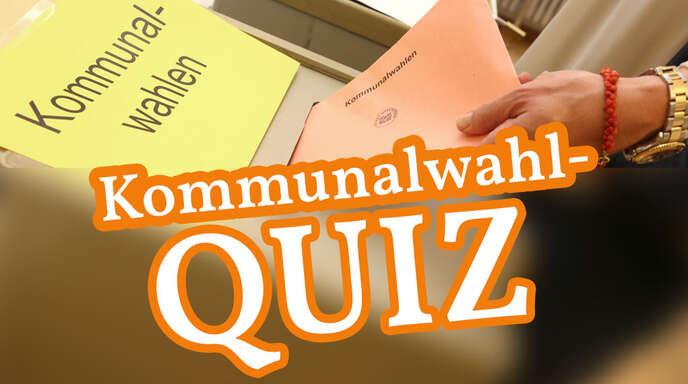 Testen Sie Ihr Wissen im Quiz zur Kommunalwahl am 26. Mai