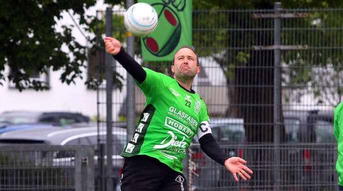 Kapitän Marco Dobler feierte mit Aufsteiger FG Griesheim zwei überraschende Siege zum Saisonstart.