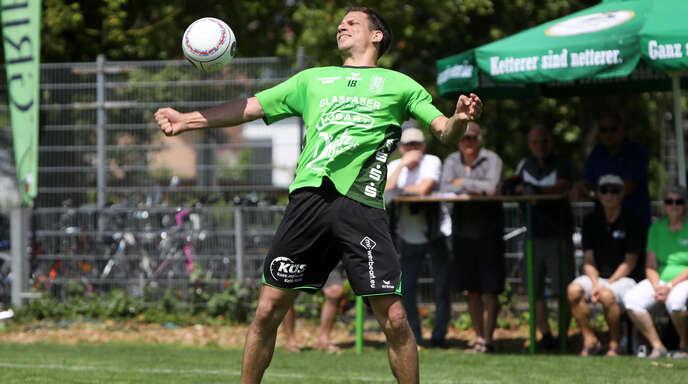 Michael Haas hatte mit Aufsteiger FG Griesheim am Wochenende schwer zu kämpfen.
